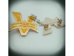 大众点评公司LOGO徽章、上海亮粉徽章、南昌金属滴胶徽章厂家