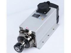 铝型材钻孔主轴电机/雕刻机方形风冷主轴电机