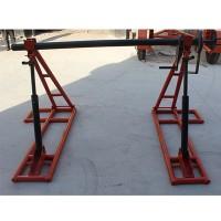 卧式螺旋放线架/机械式放线架/光缆线盘放线支架批发