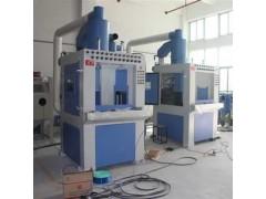 武汉转盘式喷砂机 油罐桶翻新处理 自动喷砂机