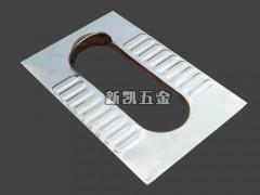 光板不锈钢蹲便器 坚固耐用 不易走形