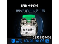 RFID电子铅封,电子水表电表铅封,带芯片塑料标签,