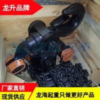 3T防超载手拉葫芦行程3m,码头无电源场合用手拉葫芦