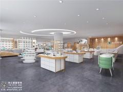 临安市400平方米眼镜店装修公司-浙江国富装饰