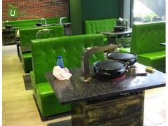 厂家直销港式餐厅桌椅 韩国料理店餐厅桌椅 烤肉店餐厅桌椅