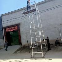 单边梯车 接触网检修梯车 铝合金单边梯车接触网 轨道梯车