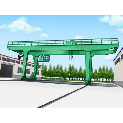 广西崇左龙门吊厂家销售100吨40米门机