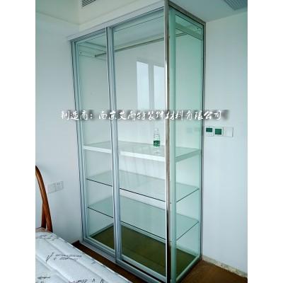 南京全透明玻璃衣柜