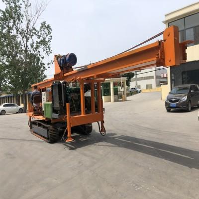 供应CFG螺旋灌注桩 15米入岩步履式钻机 长螺旋钻孔机