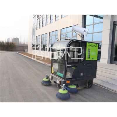 电动扫地车与环卫人员的区别
