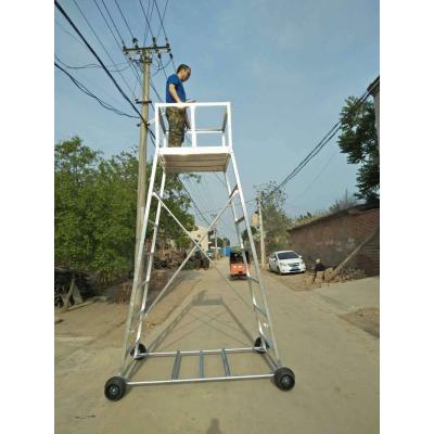 铝合金梯车 接触网检修梯车 定制